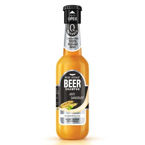 Park Avenue Champú anticaspa con base de cerveza, 180 ml, de la India