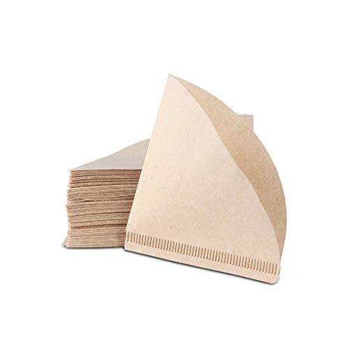 Sylvialuca Amerikanisches Filterfilterpapier Kaffeemaschine Spezialfilterpapier Handkaffeefilterpapier No Drift 40St