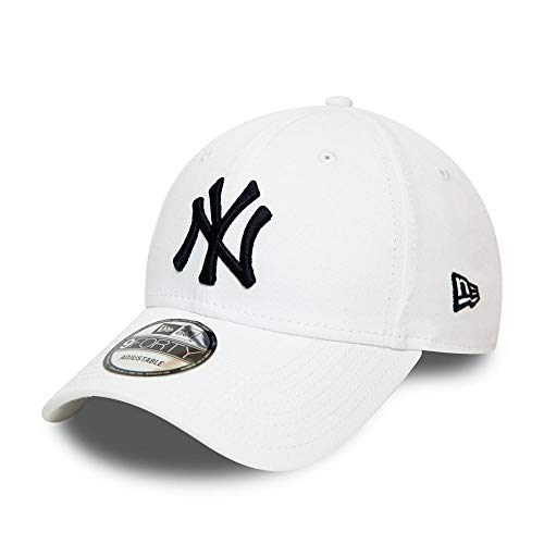 New Era Casquette 9Forty MLB New York Yankees Essential Blanc Réglable