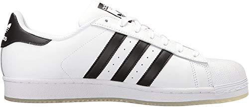 adidas Originals Superstar Vulc ADV, Zapatillas para Hombre, Nucleo Bianco E Nero, 38 2/3 EU