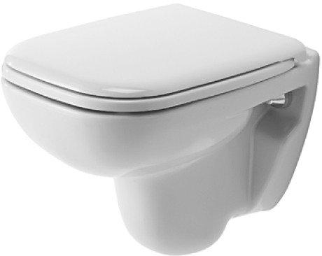 Duravit D-Code – Abattant WC suspendu Compact D-Code 355 x 480 Blanc