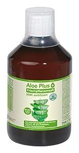 Secret Essentials - Aloe Vera, jugo puro 99,6 %, certificado ISAC, 500 ml con vaso medidor, aloe con vitamina C, B5, B6, biotina, B12, suplemento alimenticio, calidad prémium