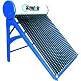 Suntek Energy Metal Solar Water Heater - (100 Litres, Multicolor)