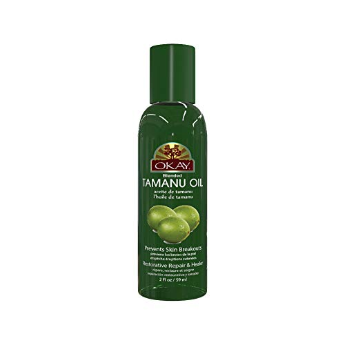 Okay Tamanu Blended Oil for Hair amp Skin Made in USA 2 Fl Oz