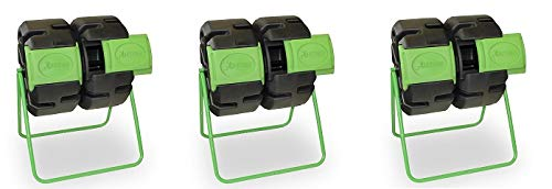 Great Price! FCMP Outdoor Dual Body Tumbling Composter by HOTFROG (3-(Pack))
