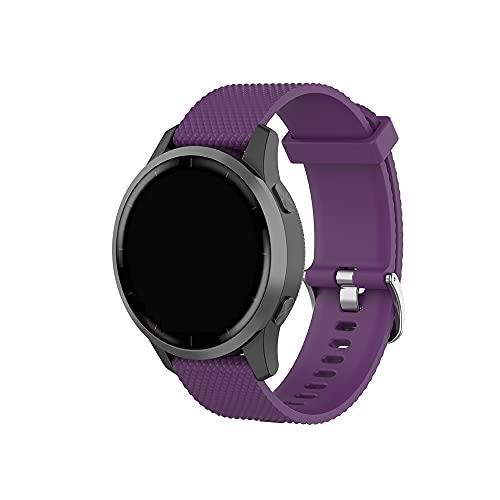 Compatible con Garmin Vívoactive 4 bandas, repuesto de silicona para Garmin Vívoactive 4 GPS Smartwatch,
