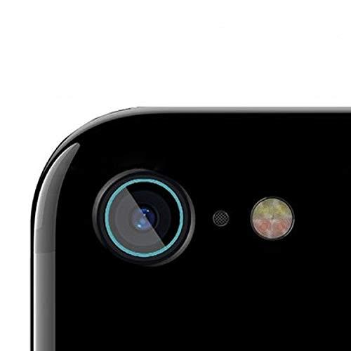OLUMBO Lente de la cámara fácil Trasera de la Fibra de la película endurecida de la película de Cristal for el iPhone 6 Anti-rasguños