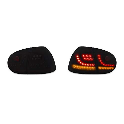 JOM Car Parts & Car Hifi GmbH 83172 LED Rückleuchten schwarz mit Dynamik Blinker