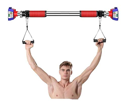 FENGRONG Multi-Purpose Home Fitness Pull Up Bar, Doorway Klimmzugstange, Workout Bar, Fitness Bar (Size : 148cm-200cm)
