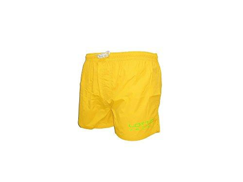 Lotto Costume Uomo Boxer Nylon Colori Fluo Sport Beachwear Art. 3029 (L, Giallo Fluo)