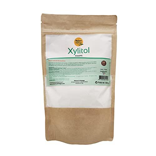 Xilitol, edulcorante natural, bajo en calorías, sustituye el azúcar y es apto para diabéticos