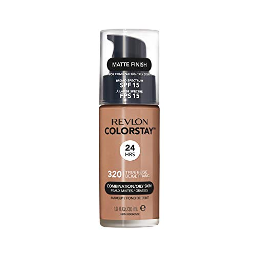 Revlon ColorStay Makeup for Combi/Oily Skin True Beige 320, 1er Pack (1 x 30 ml)