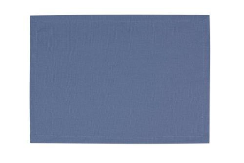 Tom Tailor 575455 T-Dove Lot de 6 Sets de Table Coton Bleu 35 x 50 cm