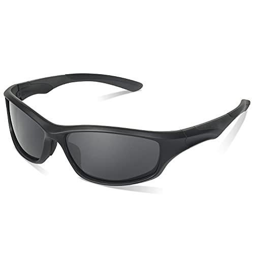 Duduma Polarized Sports Sunglasses for Men Women Running Cycling Fishing Golf Tr90 Unbreakable Frame