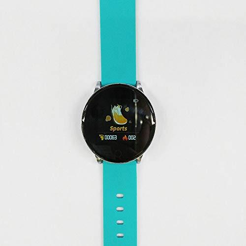 GYHJG Smart Armband Damen Sport Smart Watch Wasserdicht Fitness Tracker Herzfrequenzmesser Schrittzähler Armband