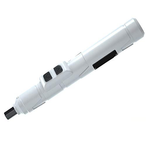 YFAX, destornillador inalámbrico Destornillador eléctrico Kit de herramientas de mano Taladro eléctrico inalámbrico portátil Tipo de pluma Juego de destornilladores eléctricos de precisión en miniatur