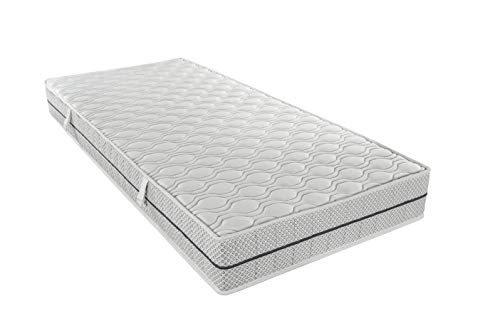Ortho-Relax Duo-High-Tech Matratze 90x200 cm | H 20 cm (90x200)