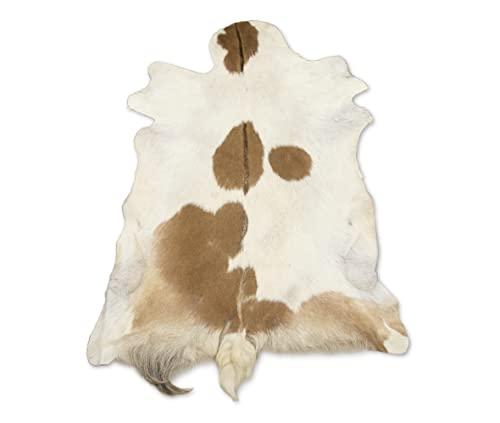 Zerimar Alfombra de Piel de Cabra | Medidas: 115x80 cm | Alfombra de Cabra Salón | Alfombra de Piel Decorativas | Alfombra Dormitorio