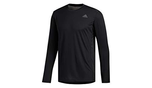 Camiseta Adidas para hombre - FYR52, playera de correr, Medium, Negro