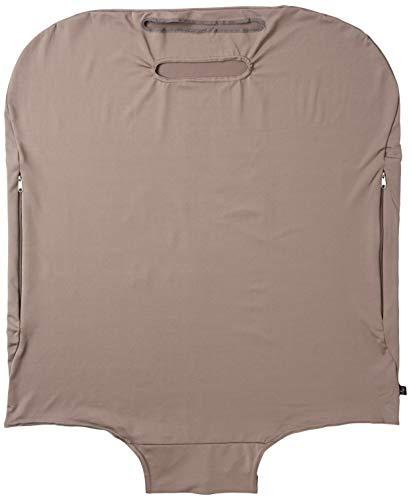 [アンドプロテカ] スーツケースカバー 大 ジャージ素材 68 cm グレー(無地)