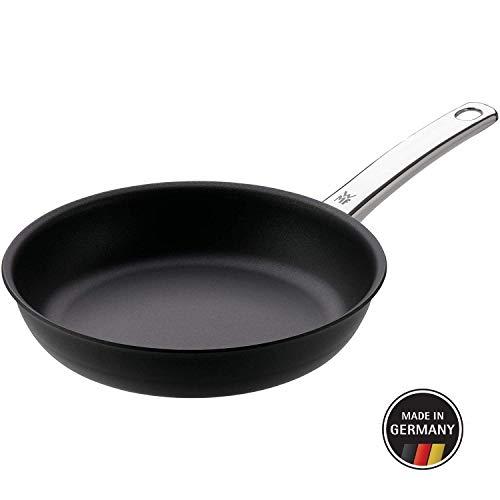 WMF 17.7124.6021 Steak Profi - Sartén Profesional de Inducción Antiadherente, 24 cm, Control rápido del Calor, Sin PFOA, Acero Inoxidable, Negro