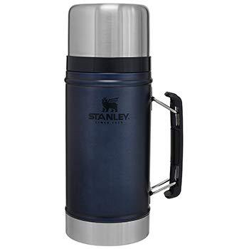 Stanley Legendary Classic Vacuüm-geïsoleerde thermohouder voor eten 0,94 l, 18/8 roestvrij staal, dubbelwandige vacuüm-isolatie, lekvrij, voedselcontainer, warmhouder, thermobox