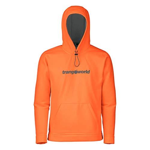 Trangoworld Identifiant Sweat, Homme XXL Multicolore - Orange/Gris (Naranja/Gris Medio)