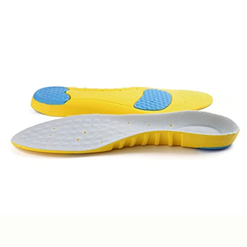 GELTDN Inserciones de zapato unisex Inserciones de deportes ortóticos Soporte de arco de apoyo Plantillas Tamaño de absorción de golpes 34-45 (Color : 2 pairs, Size : M(38-41)25.7CM)