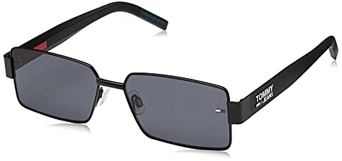Tommy Hilfiger TJ 0005/S Gafas de Sol, MTT Negro, 57 Unisex Adulto