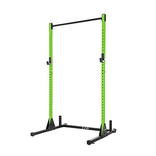 Buy Discount CAP Barbell Power Rack Exercise Stand, Green