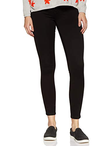 ONLY Damen Onlroyal High Sk Pim600 Noos 15093134 Jeans, Schwarz, 34 Extra Long