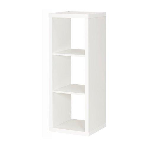 Unbekannt IKEA KALLAX Regal in weiß; (42x112cm)
