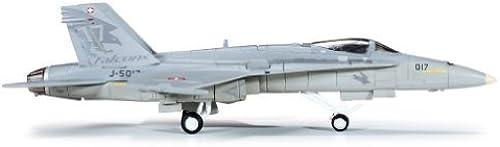 para proporcionarle una compra en línea agradable Herpa 1-200 1-200 1-200 Scale Military HE554718 Swiss Air Force F-A-18C 1-200 Solo Display Team by Herpa 1 200 Scale Military  entrega rápida