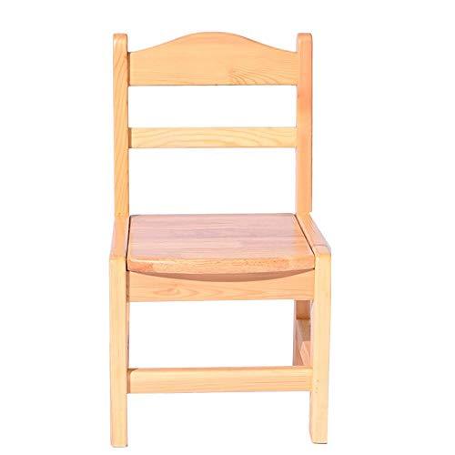 YumEIGE houten kruk met rugleuning 3-10 jaar USA, kinderstoel voor kinderen, zacht en rond, thuis, Azië USA belasting 40 kg