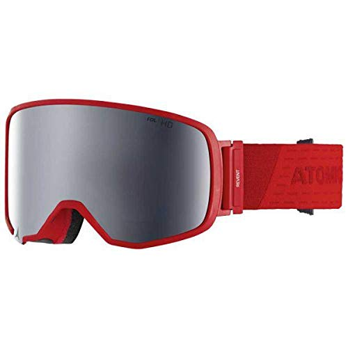 Atomic Revent L FDL HD, unisex All Mountain-Skibril, voor alle lichtomstandigheden, Large Fit, Live Fit-frame, FDL-constructie, stereo HD-schijf