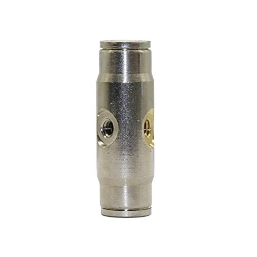 Conexión de agua de pulverización 2 Agujeros de la boquilla Conector de alta presión de bloqueo antideslizante 3/8'(9.52mm) Conector de conexión rápida de la manguera 3/16' Soporte de boquilla de ato