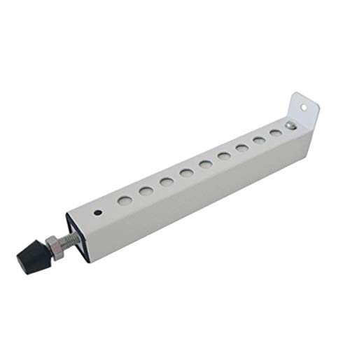 Jeacent A/C Security Window Lock Bar, Door Security Bars - Sturdy Steel, Extends from 7 3/4' to 14 3/8' for Sliding Windows with AC Unit Installed