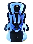 Has a cushioned 5 point harness belt with shoulder, waist and lap belt to hold the child in place. Backrest can be detached when the child is above 4 years and gets uncomfortable in the seat. The seat can also be used as a booster seat in the car. Ha...