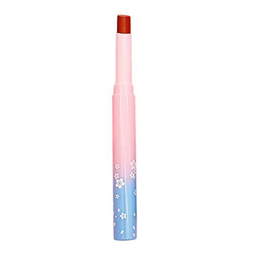 Niedliche Antihaft-Tasse Rosa Tube Lippenstift Mund Mädchen Lippenglasur Natürlicher roter...