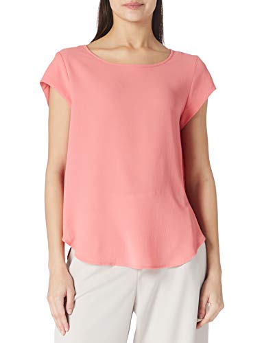 Only ONLVIC S/S Solid Top Noos WVN Camiseta, Tea Rose, 40 para Mujer