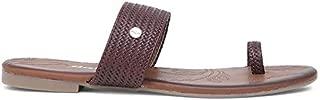 BATA Women's Weave Tr Fashion Slippers