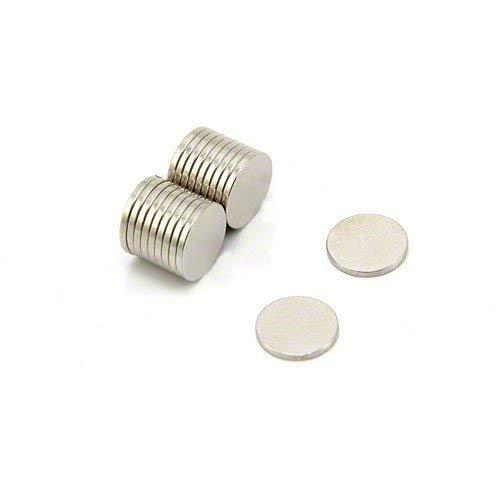 Magnet Expert Ø 10 mm x 1 mm d'épaisseur N42 Néodyme Aimant - 0.58 kg Pull (paquet de 20)