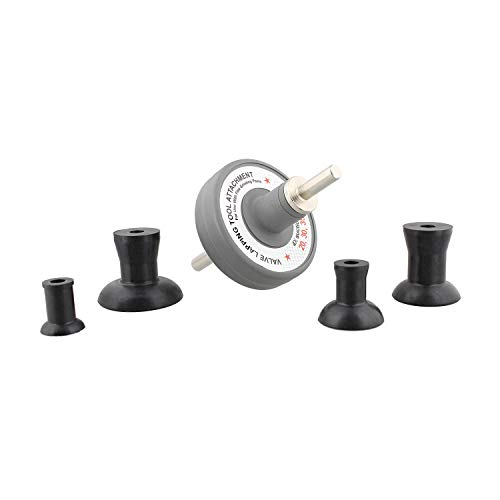 ABN Valve Lapping Tool Kit – Valve Lapping Attachment Tool for Drill Valve Grinding Kit Small Engine Valve Lapper Kit