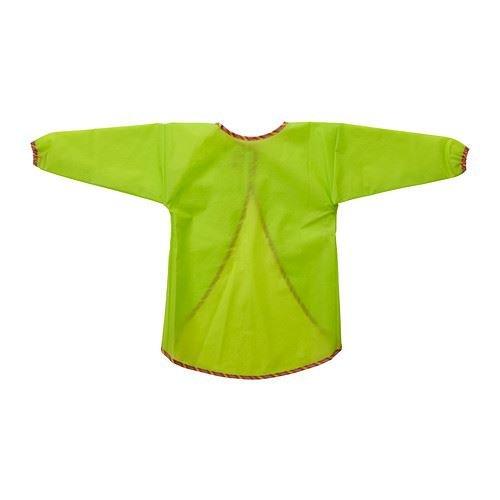 MÅLA - Schort met lange mouwen, groen