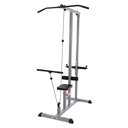 Home Gyms LAT Pulldown Low Row Cable Pull Down Machine Sports Indoor