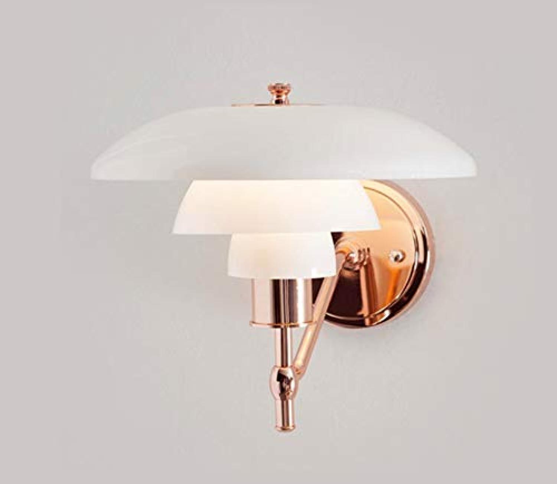 Glas LED Wandleuchten Wohnzimmer Schlafzimmer Nachtbeleuchtung