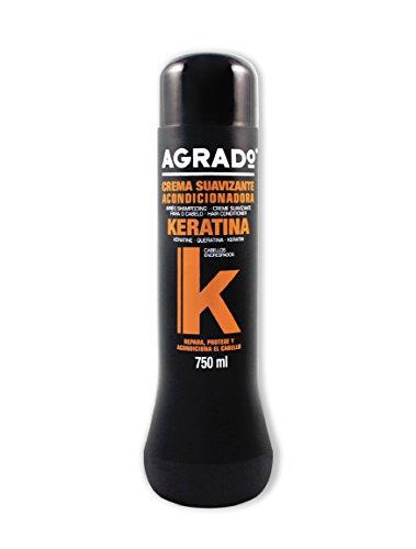 Agrado Crema Suavizante con Keratina Acondicionador - 750 ml