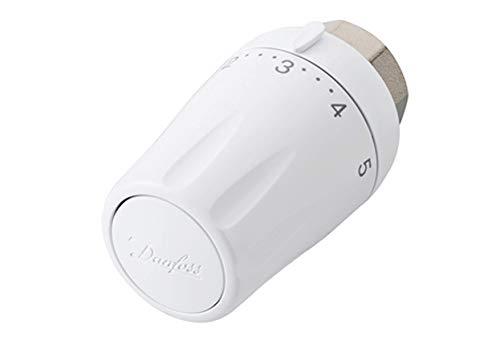 Danfoss 013G6501 Elemento Termostatico Rtw-K per Valvole con Attacco, Bianco