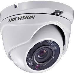 HIKVISION DS-2CE56D1T-IRM 2.8MM Outdoor IR Turret, HD1080p, 2.8 mm, 20m IR, Day/Night, DWDR, Smart IR, IP66, 12 V DC (Renewed)