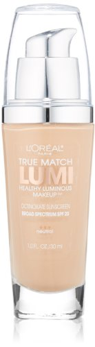 L'OREAL - True Match Lumi Makeup N3 Natural Buff - 1 fl. oz. (30 ml)